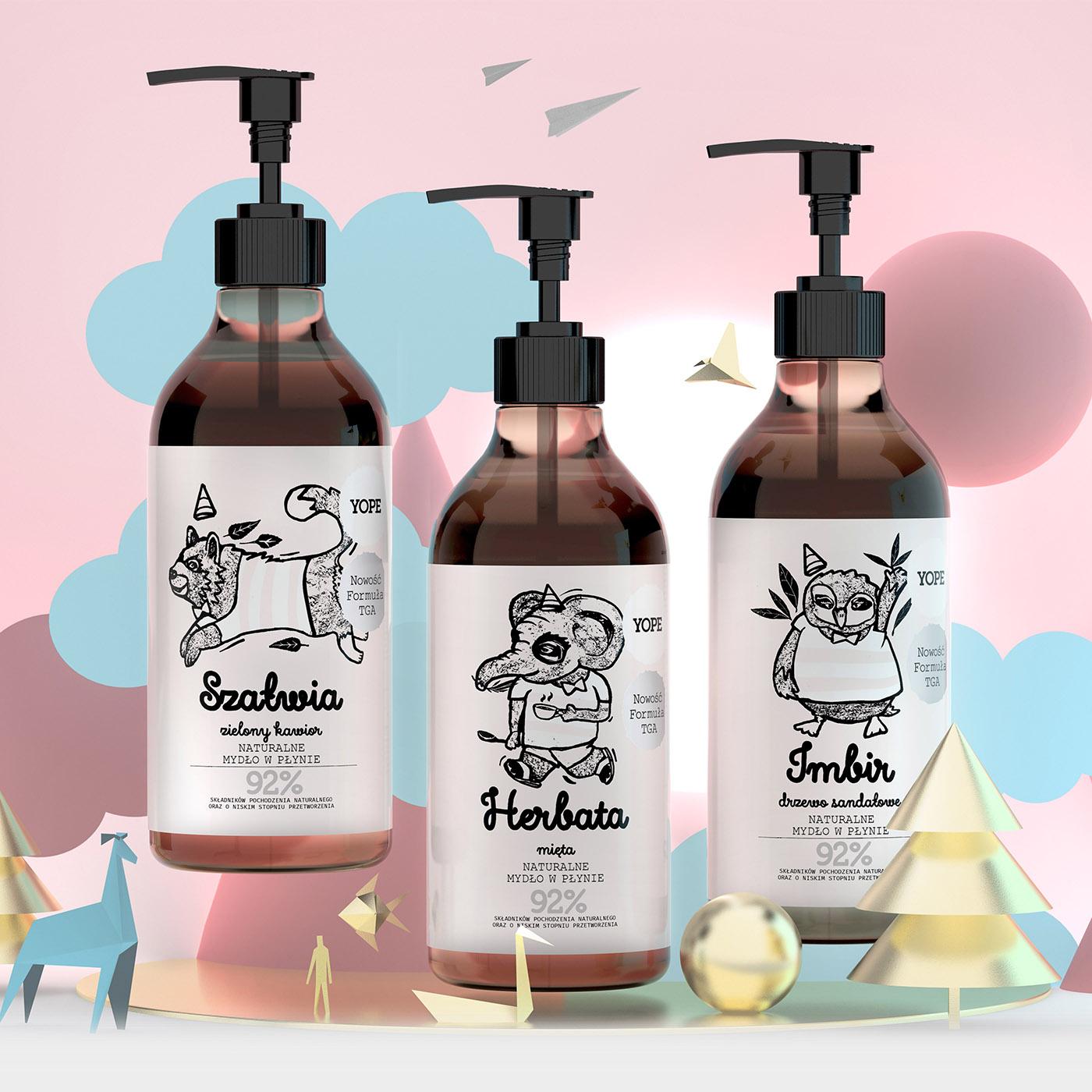 Naturalne mydła w płyniebezSLES, SLS, parabenów, silikonów, barwników